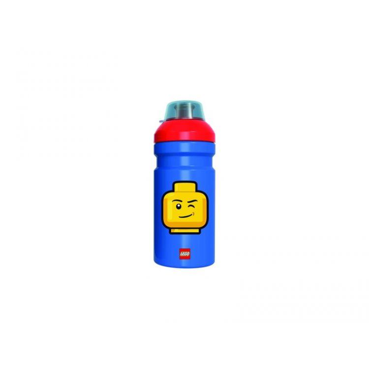 LEGO ICONIC Classic láhev na pití - modrá