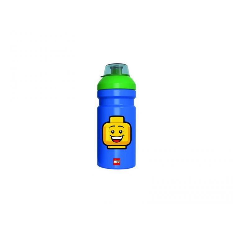 LEGO ICONIC Boy láhev na pití - modrá