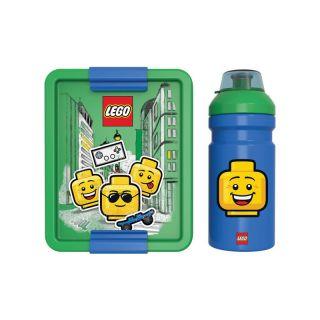 LEGO ICONIC Boy svačinový set - modrý