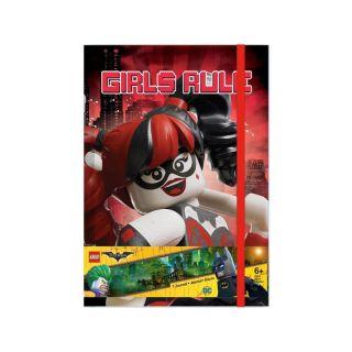 LEGO Batman Movie Zápisník (Harley Quinn/Batgirl)