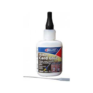 Roket Card Glue univerzální rychleschnoucí lepidlo 50ml