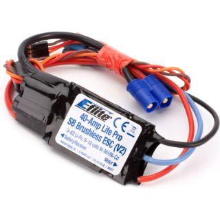 E-Flite 40A střídavý regulátor PRO spínaný BEC
