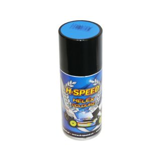 H-SPEED Spray na lexan 150ml modrý