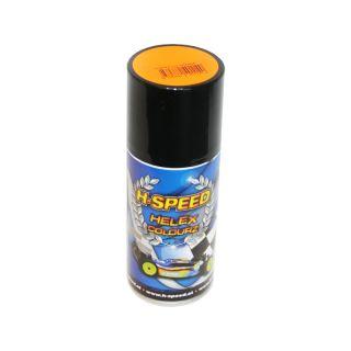 H-SPEED Spray na lexan 150ml fluoresc. oranžový