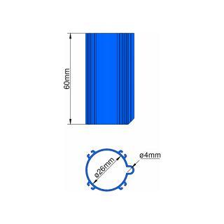 Klima Základna 26mm 4-stabilizátory modrá