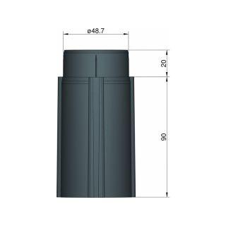Klima Základna 50mm 4-stabilizátory černá