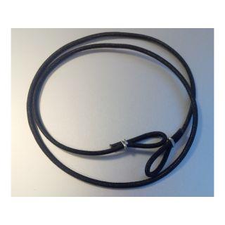 Klima Šňůra elastická s očky pr. 4mm 1m černá