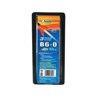 Estes raketový motor B6-0 (3ks)