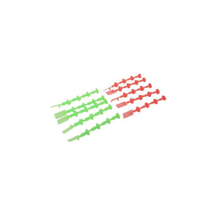 Estes - Ucpávka motoru Mini (5 oranž, 5 zelená)