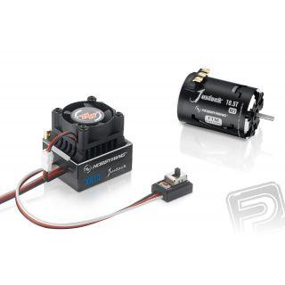 COMBO XR10 JUSTOCK s JUSTOCK 3650 SD 21,5T závitů - G2.1 - černý