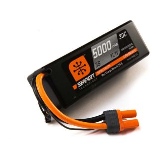 Spektrum Smart LiPo Car 5000mah 3S 11.1V 30C HC IC5