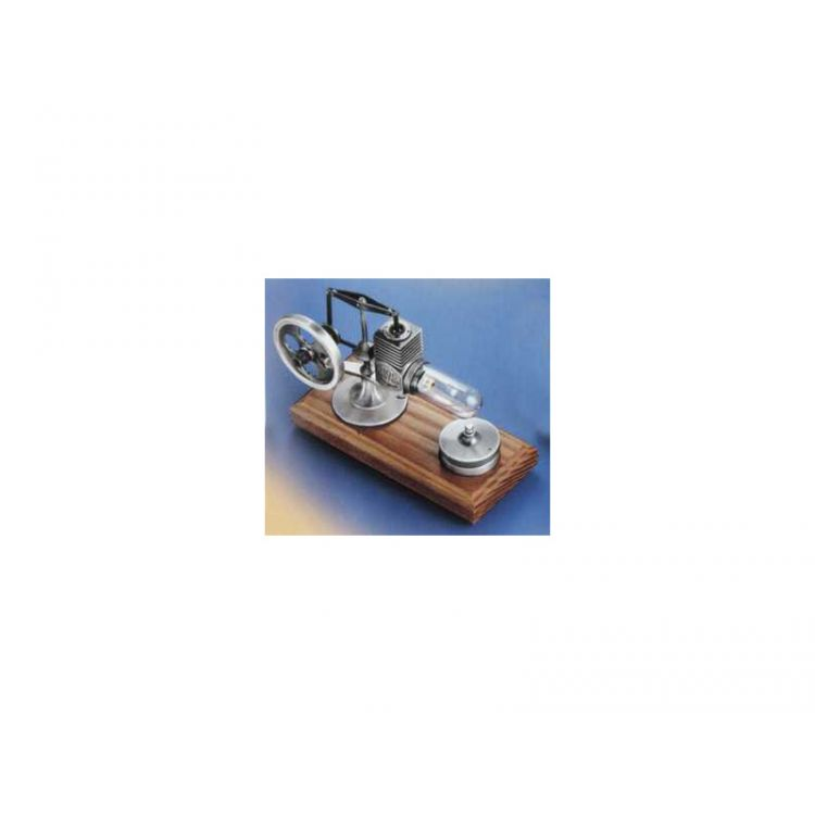 Krick Motor Stirling stíbrný smontovaný