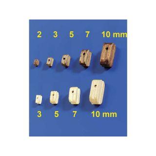 Krick Blok lanoví světlý 10mm (10)