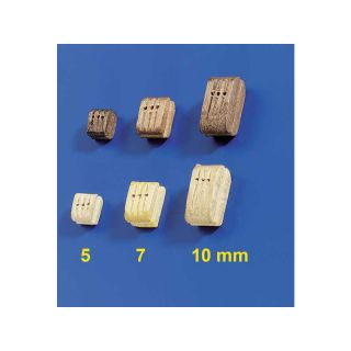 Krick Blok lanoví trojitý světlý 7mm (10)