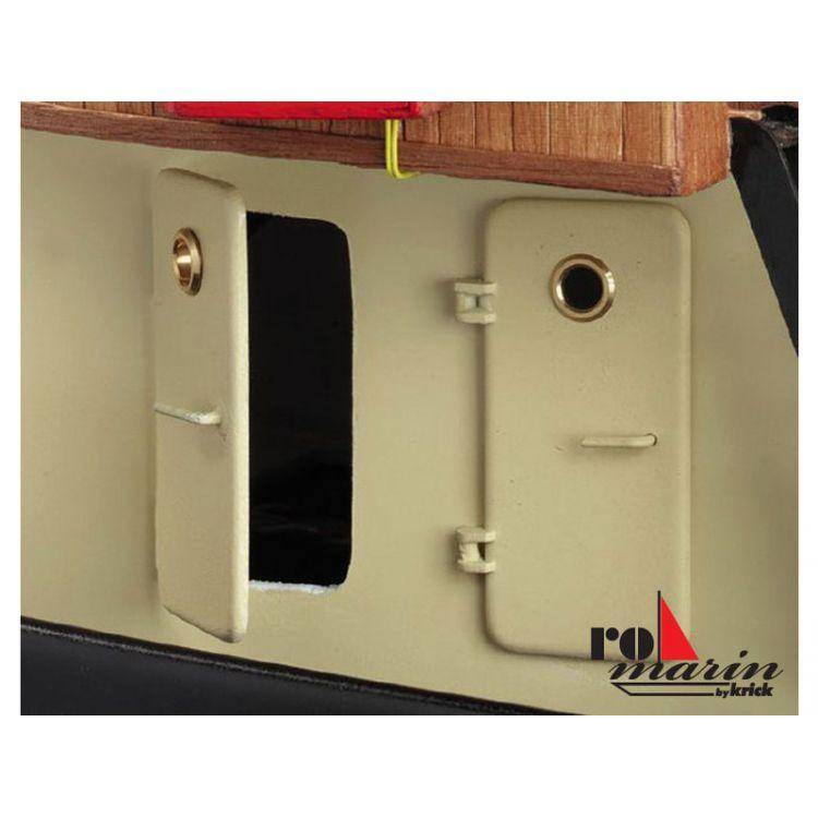 ROMARIN Dveře 54x25mm levé / pravé (3+3)