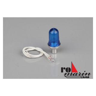 ROMARIN Lampa mini modrá 6V