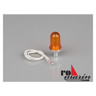 ROMARIN Lampa mini žlutá 6V