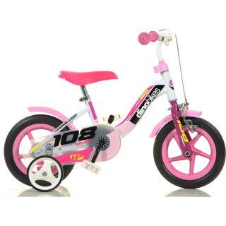 """DINO Bikes - Dětské kolo 10"""" Girl s brzdou"""