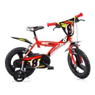 """DINO Bikes - Dětské kolo 16"""" červené"""