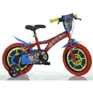 "DINO Bikes - Dětské kolo 14"" Paw Patrol"