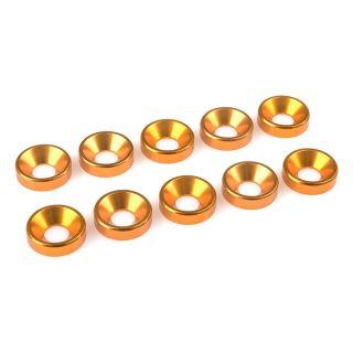 Podložka pro záp. šroub M5 hliník zlatá (10)