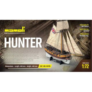 MAMOLI Hunter kutr 1:72 kit