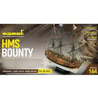 MAMOLI H.M.S. Bounty 1787 1:64 kit