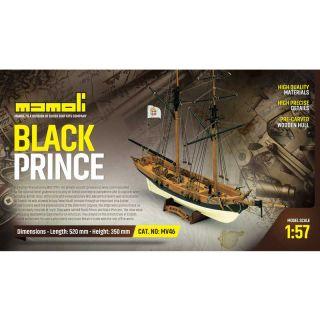 MAMOLI Black Prince 1774 1:57 kit
