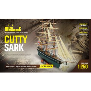 MINI MAMOLI Cutty Sark 1:250 kit