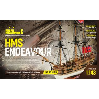 MINI MAMOLI H.M.S. Endeavour 1:143 kit
