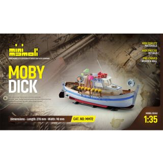 MINI MAMOLI Moby Dick 1:35 kit