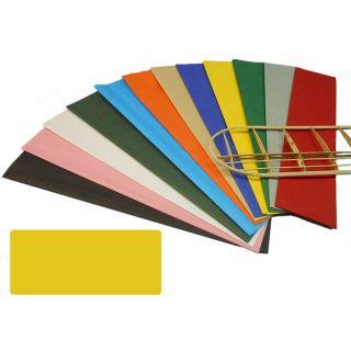 Krick potahový papír žlutý 18g/m2 51x76cm (2)