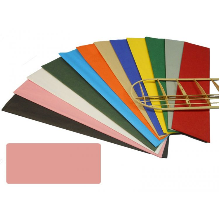 Krick potahový papír růžový 18g/m2 51x76cm (2)