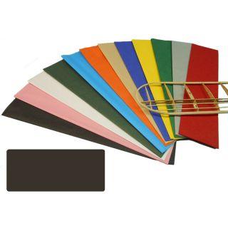 Krick potahový papír černý 18g/m2 51x76cm (2)