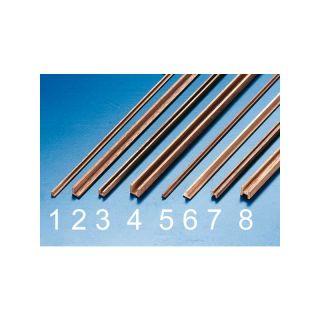 Krick Lišta ořech profil L 2x2x500(2)