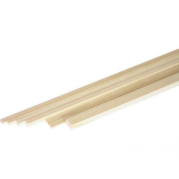 Broušený smrkový nosník 3x6mm (1m)