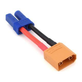 Konverzní kabel XT90 samec - EC5 baterie