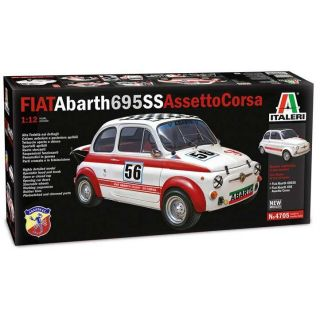Model Kit auto 4705 - FIAT Abarth 695SS/Assetto Corsa (1:12)