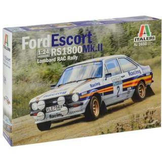 Model Kit auto 3650 - Ford Escort RS1800 MK.II Lombard RAC Rally (1:24)