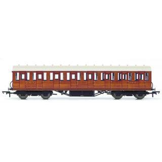 Vagón osobní HORNBY R4573A - LNER Thompson Non-corridor 3rd Class Coach, Teak
