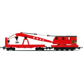 Vagón nákladní HORNBY RAILROAD R6797 - Breakdown Crane