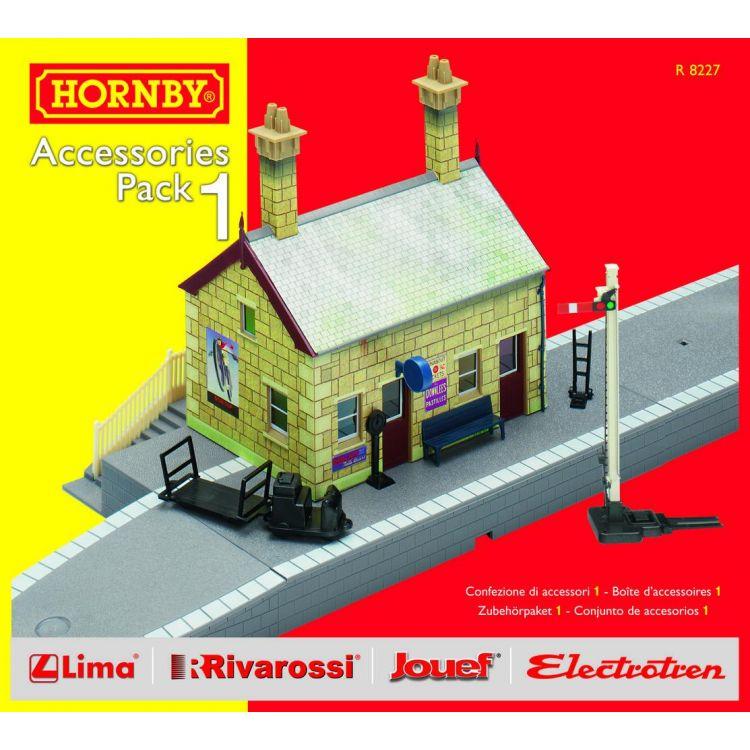 Rozšíření trati sada HORNBY R8227 - Building Extension Pack 1