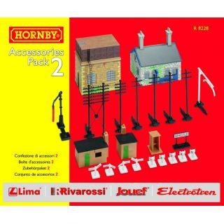 Rozšíření trati sada HORNBY R8228 - Building Extension Pack 2
