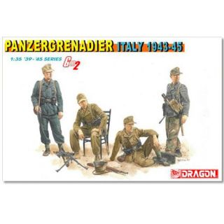 Model Kit figurky 6348 - PANZERGRENADIER (ITALY 1943-45) (1:35)
