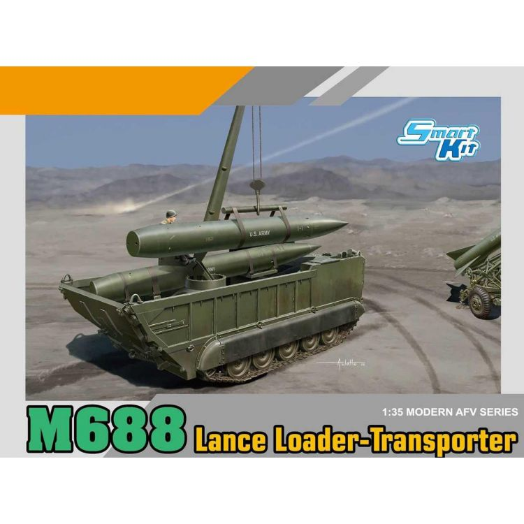 Model Kit military 3607 - M688 Lance Loader-Transporter (1:35)