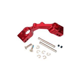 Traxxas - těhlice zadní nápravy hliník červený (2)