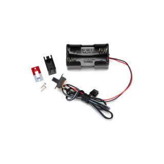 Traxxas - pouzdro baterií 4AA s vypínačem
