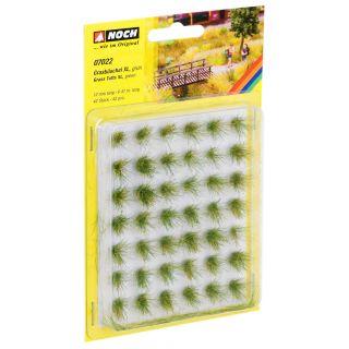Trávne trsy mini set XL, zelené, 12mm