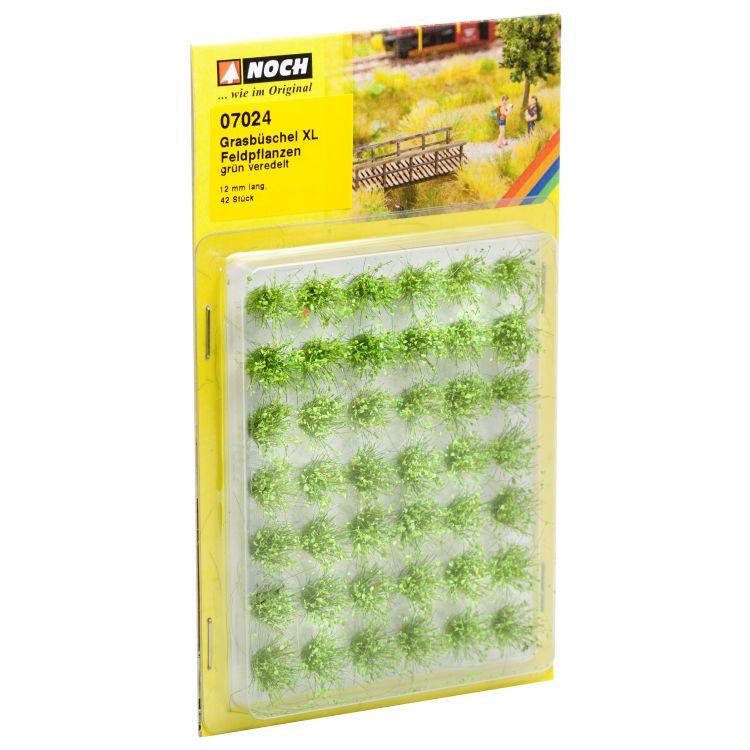 Trávne trsy mini set XL, poľné rastliny, 12mm