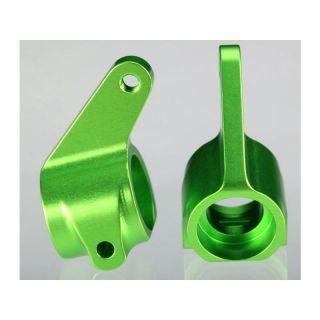 Traxxas - těhlice přední hliníkové zelené